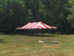 Rental store for 20 X 40 CANOPY TENT RED in Grant MI