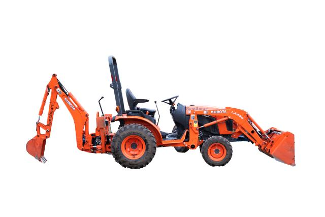 Where to find KUBOTA BACKHOE in Grant