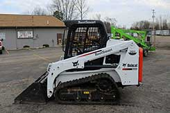 Skid steer rentals in Newaygo, Kent, and Muskegon Counties