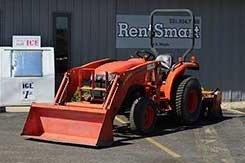 Tractor and backhoe rentals in Newaygo, Kent, and Muskegon Counties