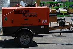 Compressor rentals in Newaygo, Kent, and Muskegon Counties
