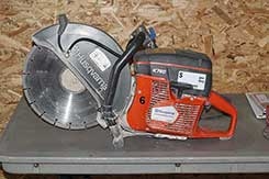 Cutting saw rentals in Newaygo, Kent, and Muskegon Counties